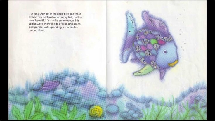 1000 ideas about the rainbow fish on pinterest rainbow for Little fish song