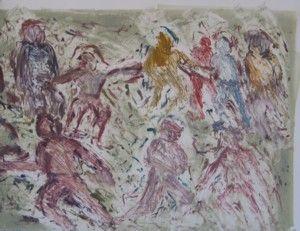 Choreograph II by David Koloane   DAVID KRUT PROJECTS