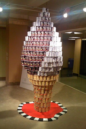 44 Best Images About Canstruction On Pinterest Food Bank