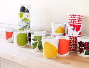 Marimekko mugs and cups #pintofinn