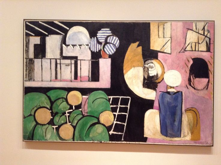 My Path at MoMA - Henri Matisse The Moroccans. Issy-les-Moulineaux, late 1915 and fall 1916