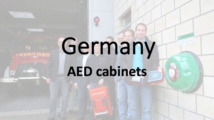 AED cabinets in Germany