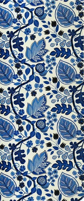coquita blue floral