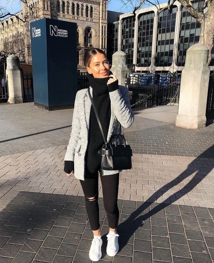 38 lässige Outfits mit Jeans für den Frühling 2019 - #mit # lässigem #denim #in #Jean