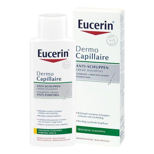 EUCERIN DermoCapillaire Anti-Schuppen Creme Shampoo - Das DermoCapillaire Anti-Schuppen Creme Shampoo bekämpft trockene Schuppen wirksam und nachhaltig.