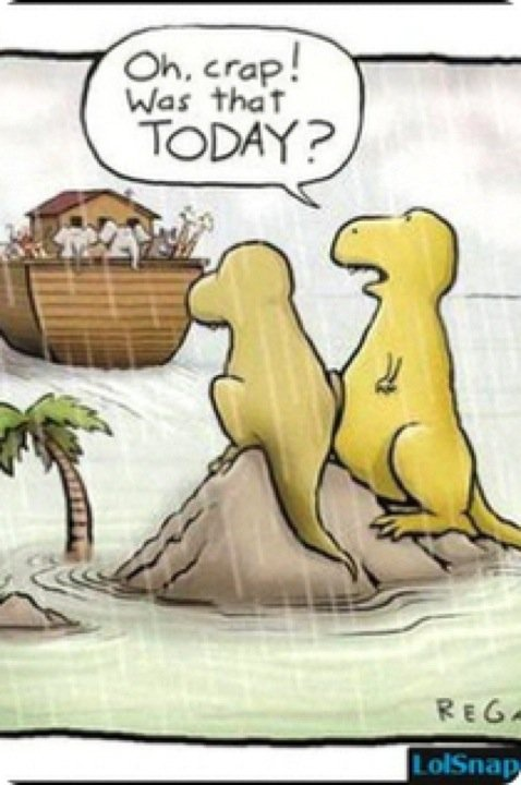 What happened to the dinosaurs.