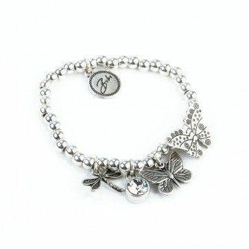 Bibi Bijoux Dragonfly charm bracelet