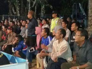Polsek Dolopo Berikan Pengamanan Turnamen Bola Voli Bupati Cup