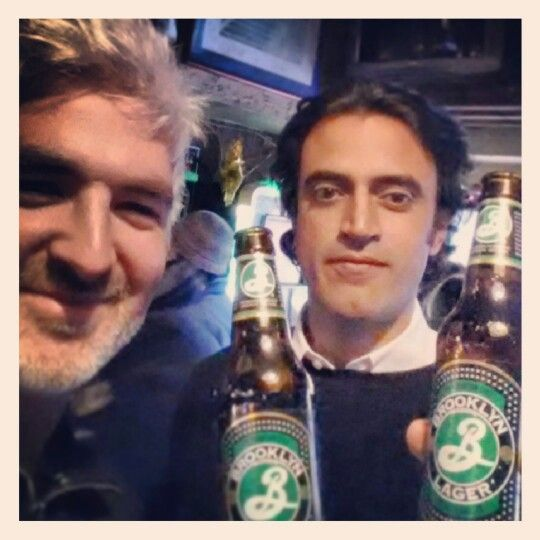 Brooklyn Lager, USA - Dec 14th 2013. What a great moment this beer was part of! A Brooklyn lager, drunk in Tribeca, Manhattan to toast a 20 yr old reunion of English school buddies who got there from Orpington via Tokyo, Dubai, Hong Kong, Beirut, Jakarta, Melbourne and North Carolina!