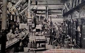"""ALMACENES """"EL SIGLO"""": 1910 - Entrada principal por Las Ramblas"""