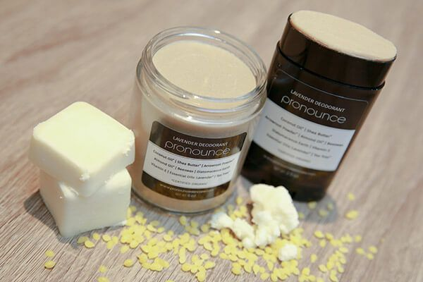 Finally! An easy and effective homemade DIY deodorant recipe with NO baking soda; there is a powerful, yet gentle, secret ingredient in the mix.