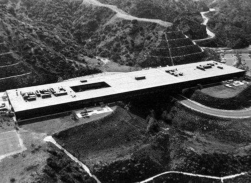 Hillside Campus, Art Center College of Design, Pasadena, CA, Craig Ellwood, 1974-76.