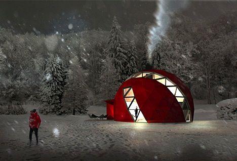 casa cupola geodetica