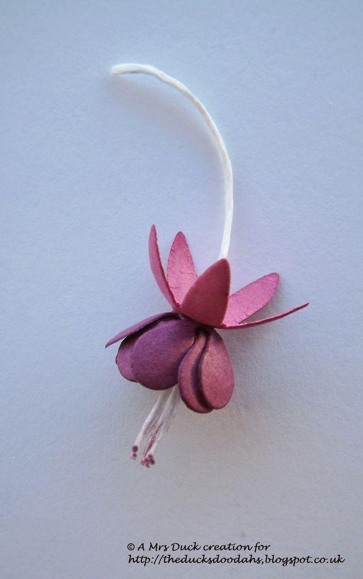 198 best Blumen aus Stoff und Papier images on Pinterest   Diy ...