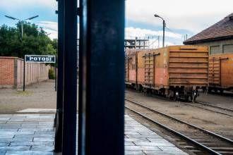 La gare de #Potosi en #Bolivie