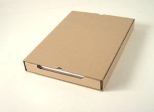 amazonのダンボール箱でつくるA4ファイルケース【マゴクラ】ダンボールインテリア生活
