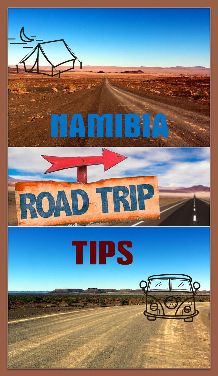 All you need to know to prepare for a road trip in Namibia