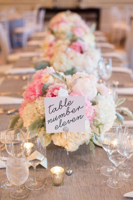 132 best wedding table number ideas images on pinterest featured photographer melissa robotti photography wedding reception table number idea junglespirit Choice Image