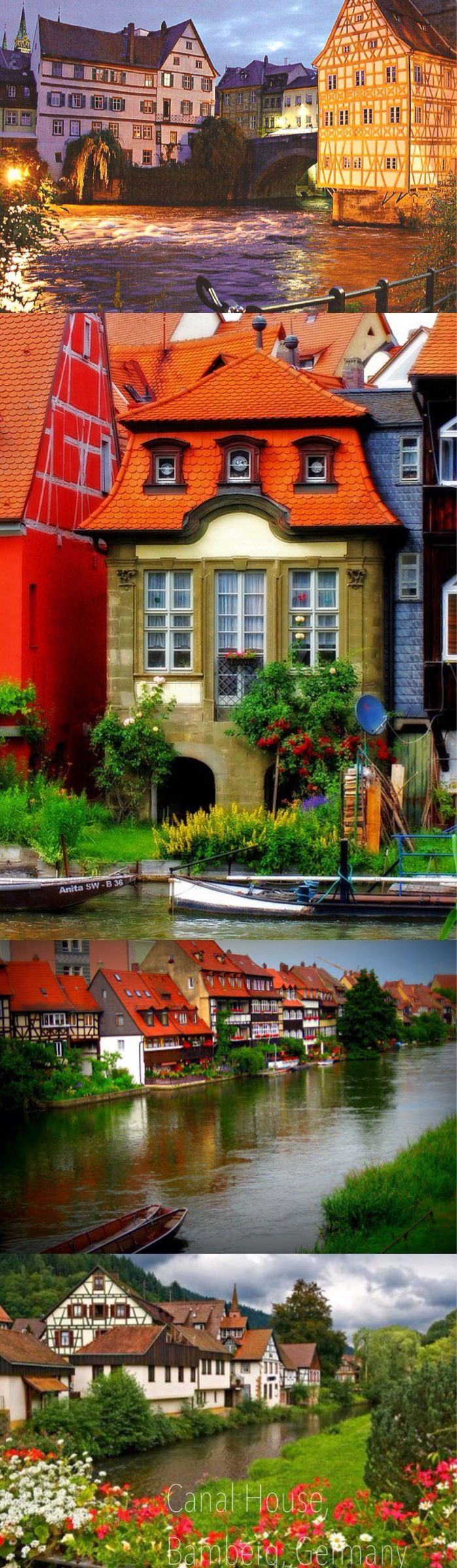 Germany Canal House, Bamberg, Germany