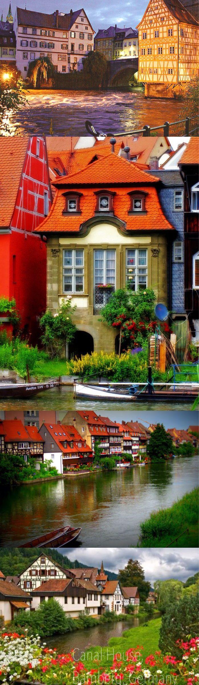 Germany Canal House, Bamberg, Germany