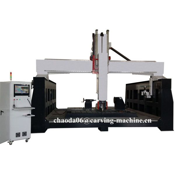 Check out this product on Alibaba.com App:Big Z Axis Large Heavy Duty 3D Foam Wood Stone Carving 5 Axis CNC Machine Price, 5 Axis CNC Router https://m.alibaba.com/RzIbQz