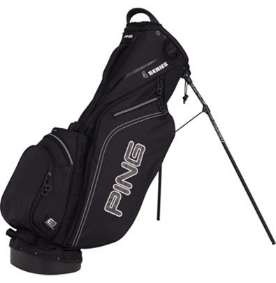Ping golf bag in all black