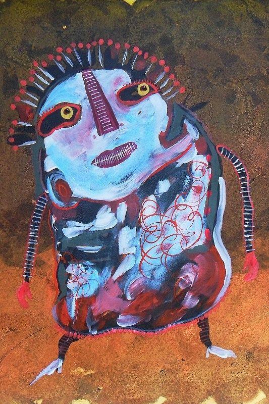Weird Art  Outsider Art  Art Brut  Lowbrow Art  by ArtBeatriceM