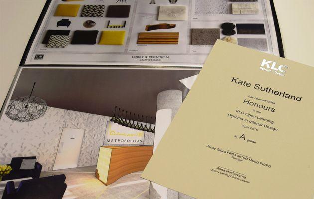 Online Interior Design Diploma Example Of A Klc Ol Diploma Mit