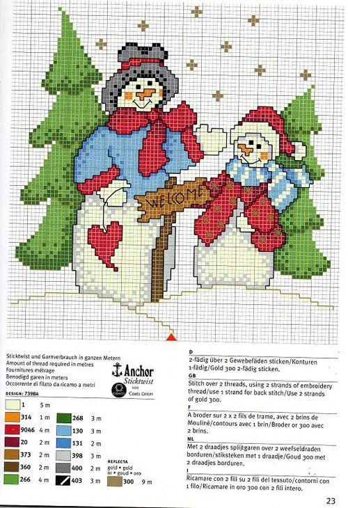 15 graficos navideños en punto de cruz gratis04