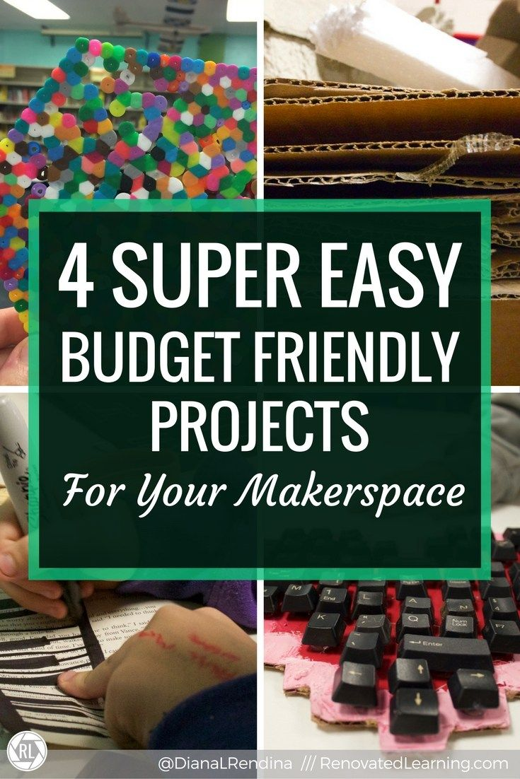 Easy Budget Friendly Spring Decorating: 4 Super Easy Budget Friendly Projects For Your Makerspace