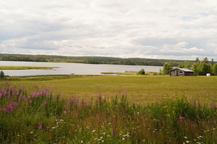 Sommar i Norrbotten. Pajala