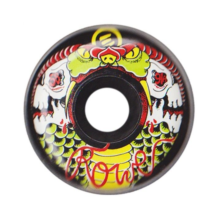 skate wheel, inline, Eulogy, J.C. Rowe, size: 58mm, hardness: 91A.