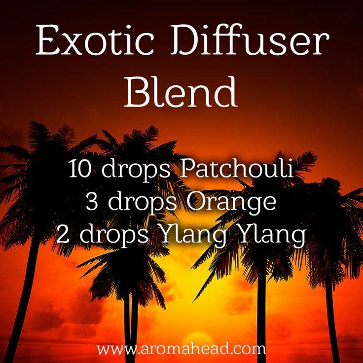 Exotic Diffuser Blend, purchase your oils at http://www.mydoterra.com/melechternach