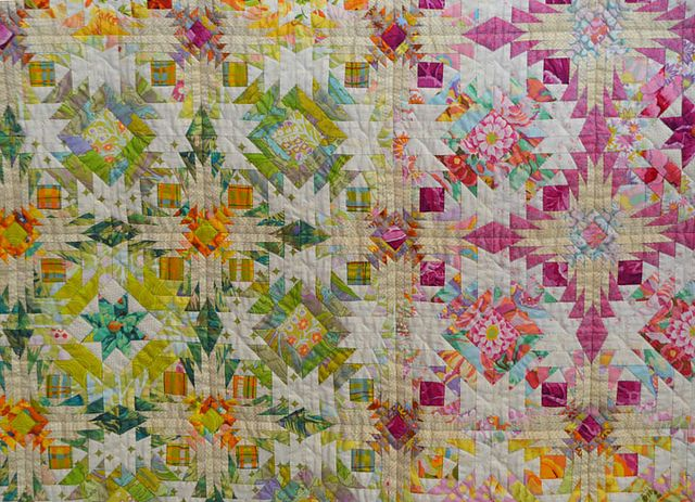 """Start Again"" by Kimie Yanagisawa, shown at the January 2011 Tokyo Quilt Festival (from Luana Rubin)"