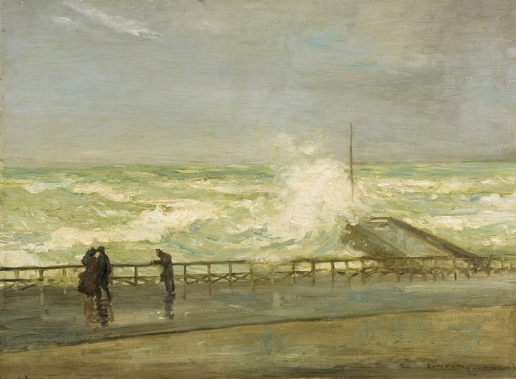 Stormy Day, Brighton - Charles Conder
