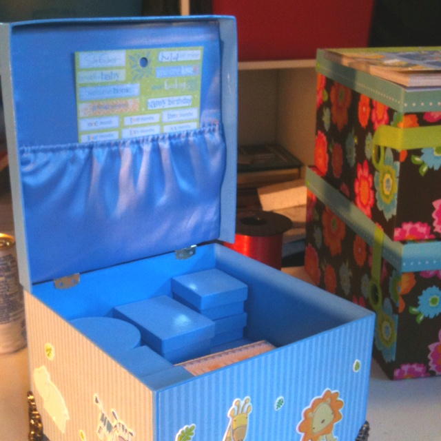 Best 25+ Baby Keepsake Boxes Ideas On Pinterest