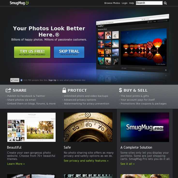 """""""SmugMug is a platform for digital photo sharing where photographers can expose the masterpiece of their work to a community of thousands of members"""" (From: http://www.hongkiat.com/blog/sites-to-create-portfolio-for-photographers/) - http://www.smugmug.com/"""