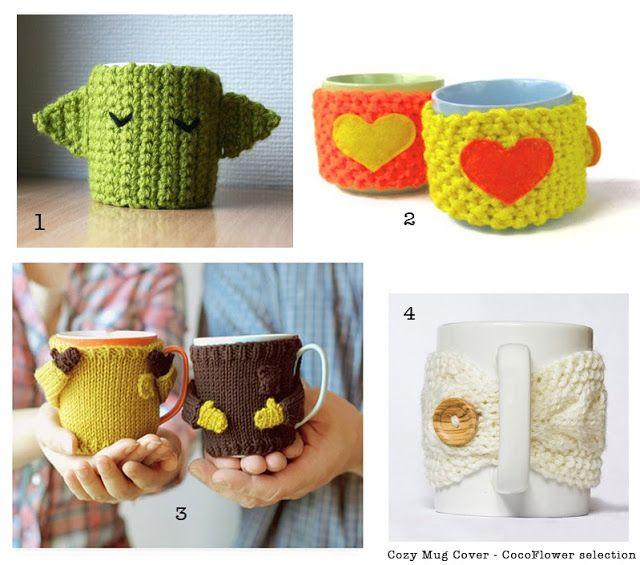 DIY Cozy Mug Cover ou le couvre tasse confortable au crochet by CocoFlower - www.cocoflower.net                                                                                                                                                                                 Plus
