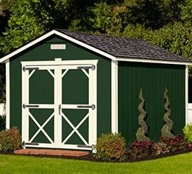 Ulrich Barn Builders is one of the best shed manufactures in Texas that builds premierutility #shedforsale.