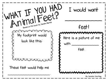 What If You Had Animal Feet Reading Response