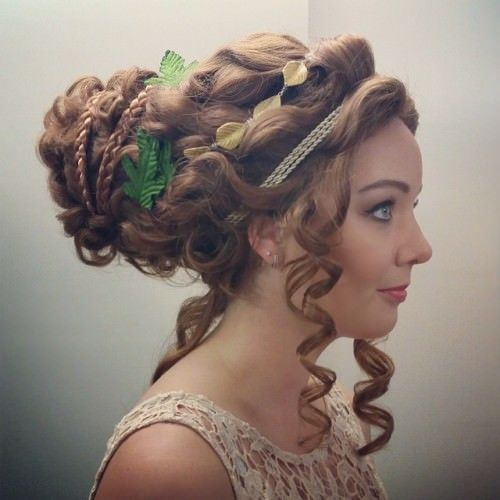 Goddess Hairstyles 29 Best Greek Hairstyles Imageshairstyle Monkey On Pinterest