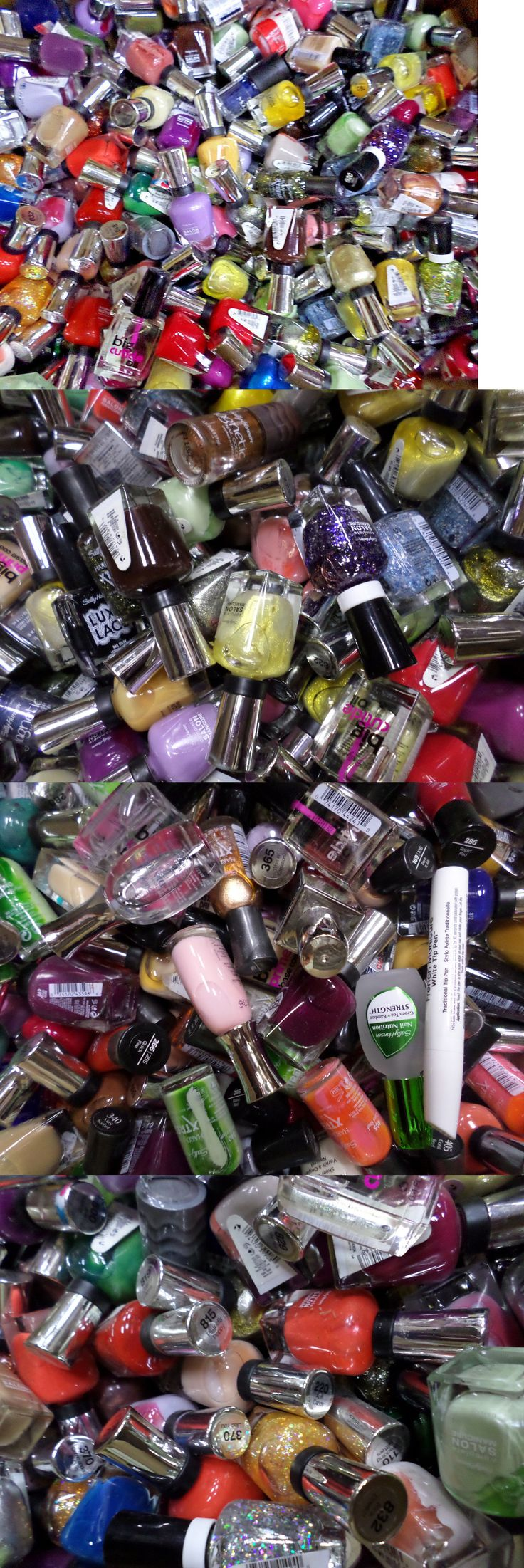 Nail Polish: Sally Hansen Wholesale Nail Polish Assorted You Choose Lot Size 25 50 100 -> BUY IT NOW ONLY: $64.99 on eBay!