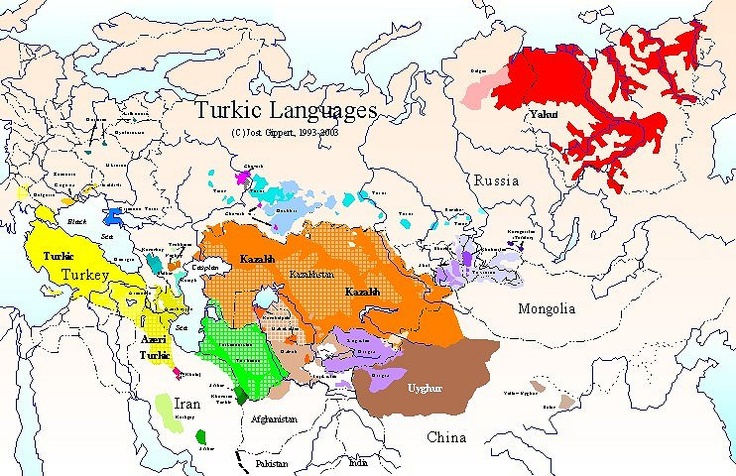 Turkic languages.