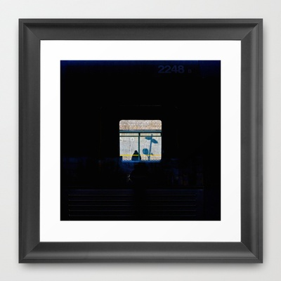 CITY Framed Art Print by lilla värsting - $32.00