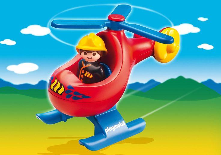 Hélicoptère pompier  Playmobil 123 9,90 €