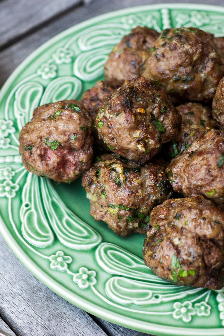 Cumin Lamb Meatballs With Tahini Yogurt Dipping Sauce - NYT Cooking: You can use this recipe as a template for whatever kind of ground meat you like.... #Meatballs #Easy