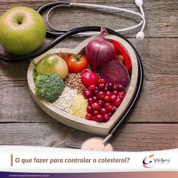 O que fazer para controlar o colesterol? Para controlar é preciso PREVENÇÃO! Basta seguir 3 regras básicas: 1. Consulte sempre um cardiologista; 2. Pratique exercícios físicos e tenha uma vida ativa; 3. Escolha alimentos saudáveis. Consuma frutas, legumes e verduras. Cuidado com alimentos gordurosos e evite frituras!