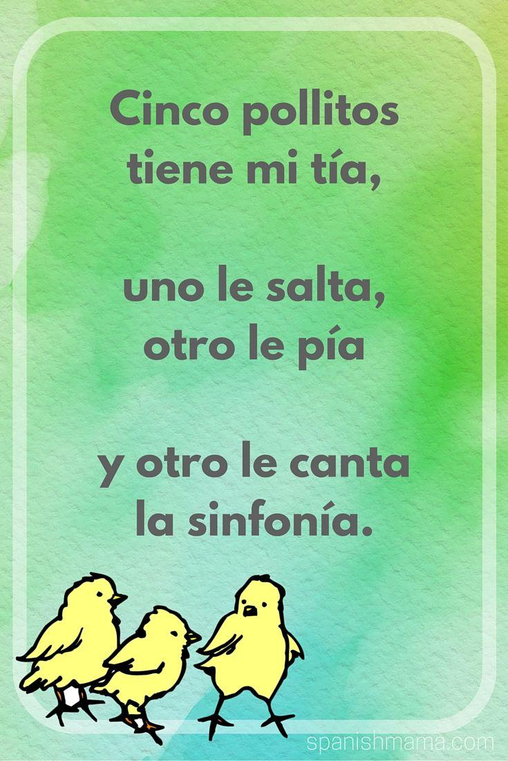 Poems and rhymes for children in Spanish. Poemas y rimas infantiles en español.