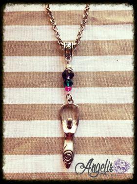 Pagan Fertility Goddess Pendant