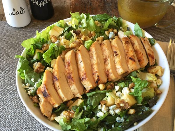 Top Secret Recipes   Applebee's Apple Walnut Chicken Salad Copycat Recipe